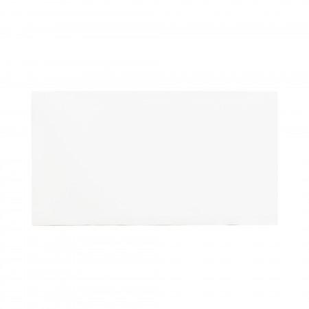 Cabeceira de algodão de pedra branca
