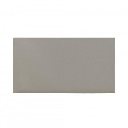 Cabeceira de algodão de pedra cinza