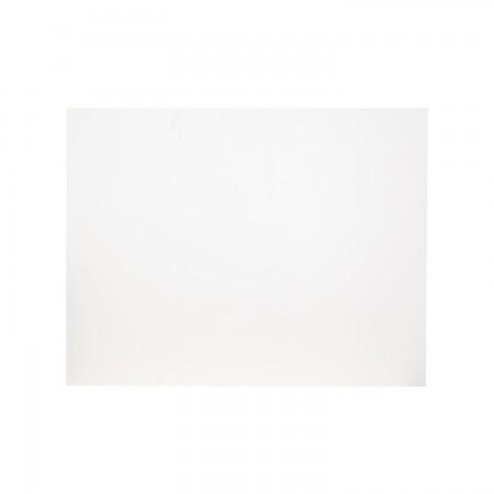 Cabeceira rectangular branca