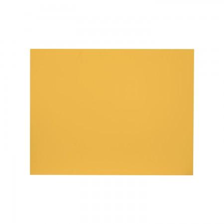 Cabeceira rectangular mostarda