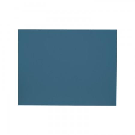 Cabeceira rectangular azul