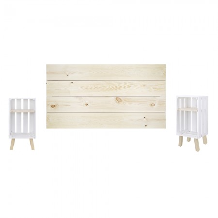 Pack natural e branco horizontal