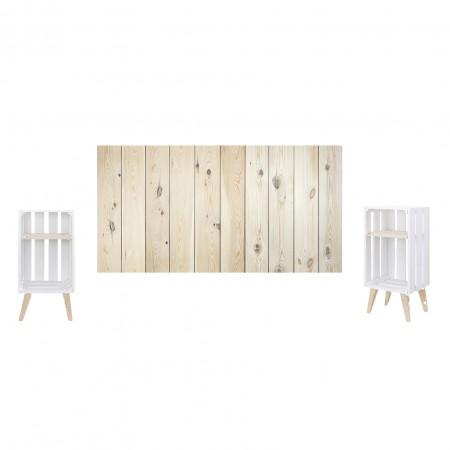Pack natural e branco vertical
