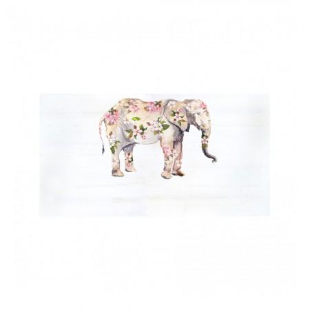 Cabeceira 'Elefante boho'