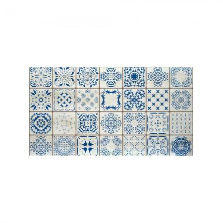 Cabeceira decapada azulejo