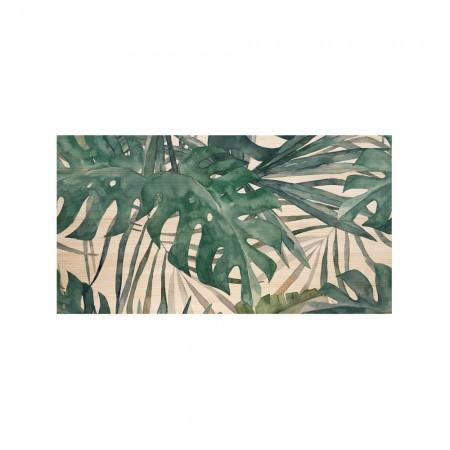 Cabeceira natural 'Folhas de palma'