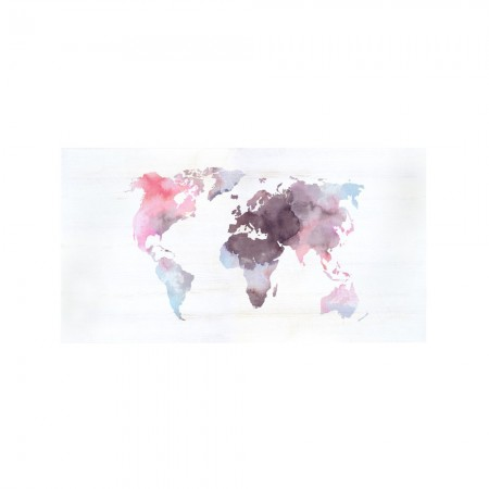Cabeceira de decapagem 'Watercolor world rose'