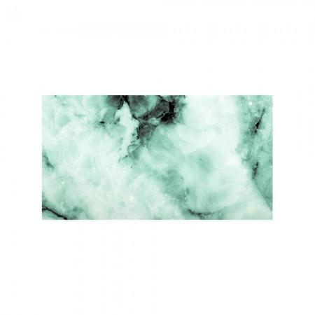 Cabeceira verde mármore