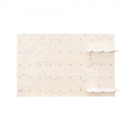 Cabeceira cama individual de madeira painel de ferramemtas