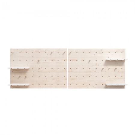 Cabeceira madeira painel de ferramemtas