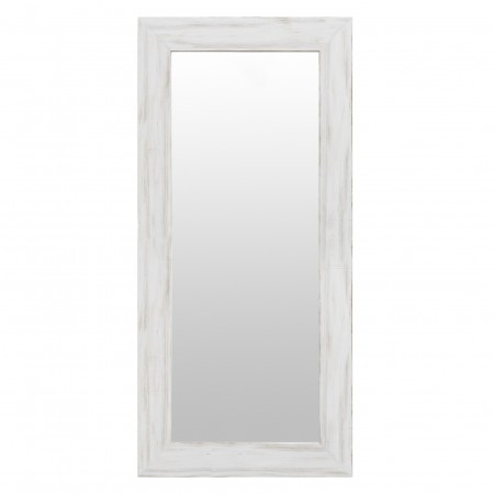 Espelho de madeira mate