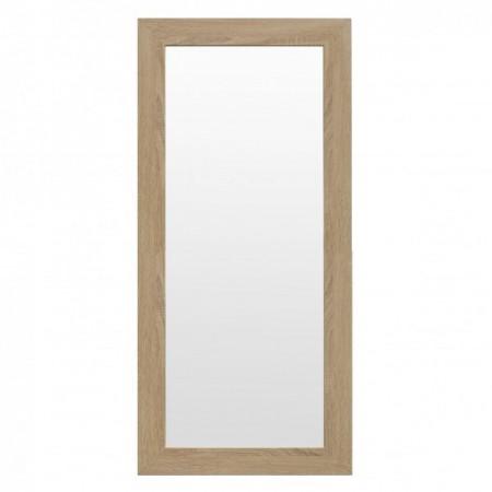 Espelho de madeira Terra