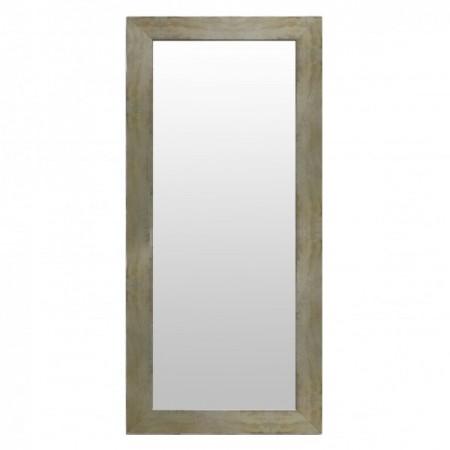 Espelho em madeira dourada