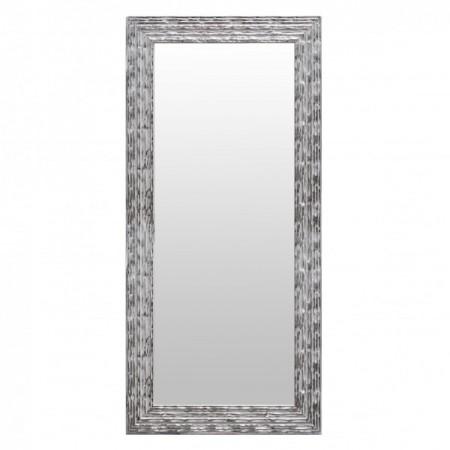 Espelho étnico aqua