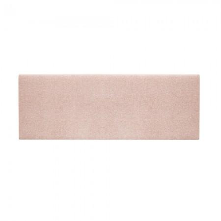 Cabeceira estofada Hoola stick rosa suave