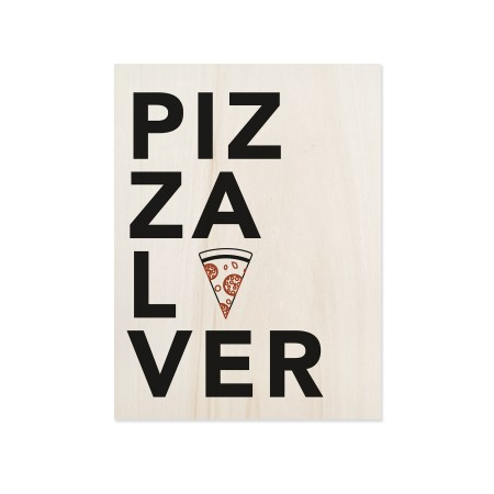 Caixa de madera Pizza Lover