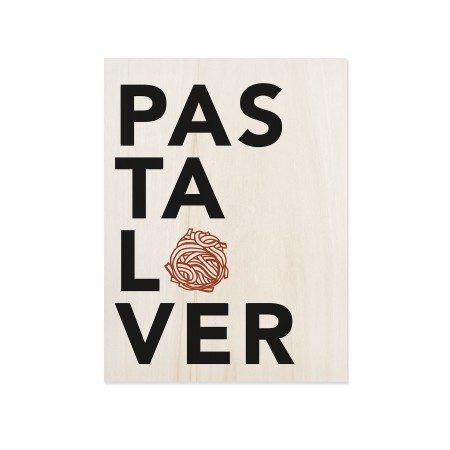 Caixa de madera Pasta Lover