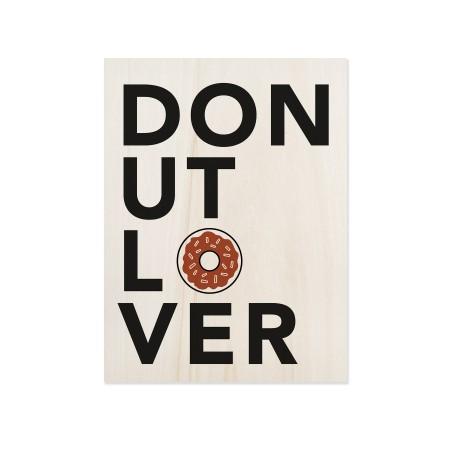 Caixa de madera Donut Lover