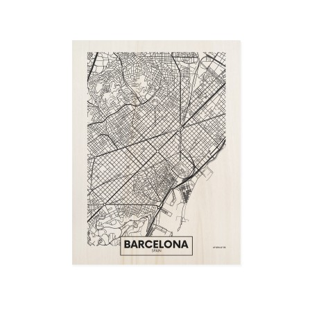 Caixa de madera Barcelona