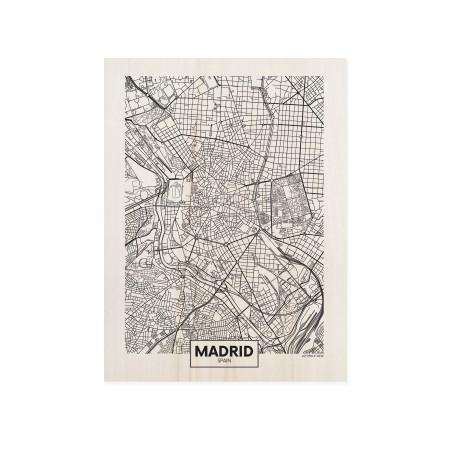 Caixa de madera Madrid