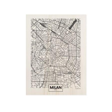 Caixa de madera Milan