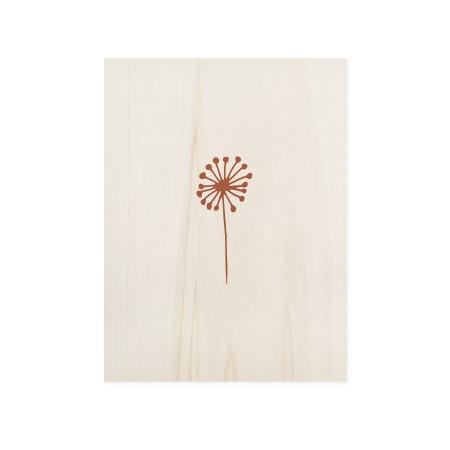 Caixa de madera Dandelion