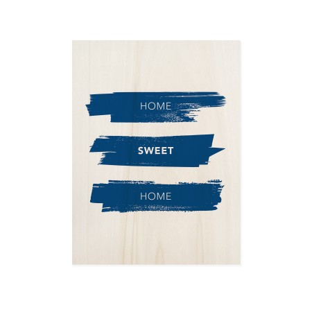 Caixa de madera Home Sweet Home