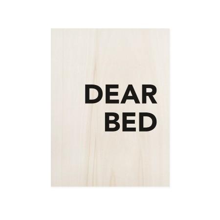 Caixa de madera Dear Bed