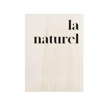 Caixa de madera La naturele