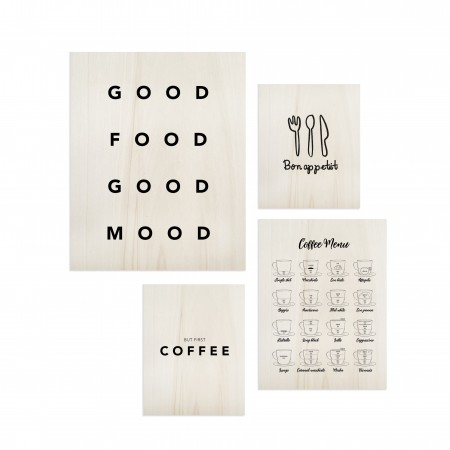 Pack de quadros Food