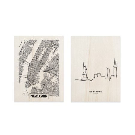 Pack de quadros New York