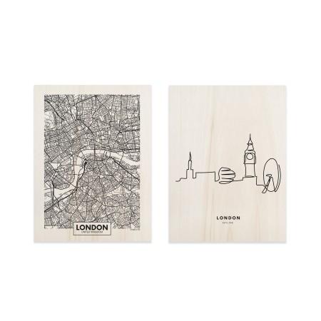 Pack de quadros London