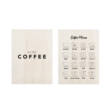 Pack de quadros Coffe