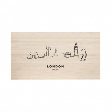 Cabeceira natural London Skyline