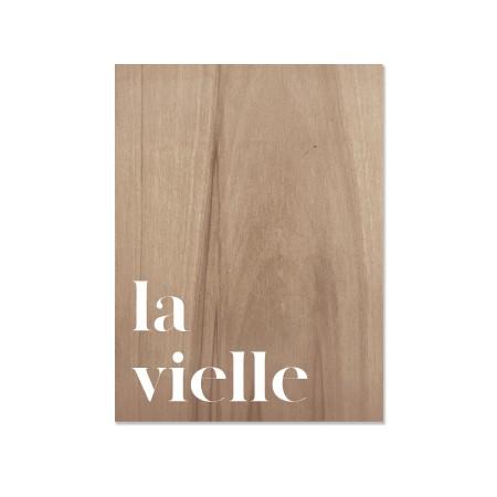 Caixa de madera La Vielle