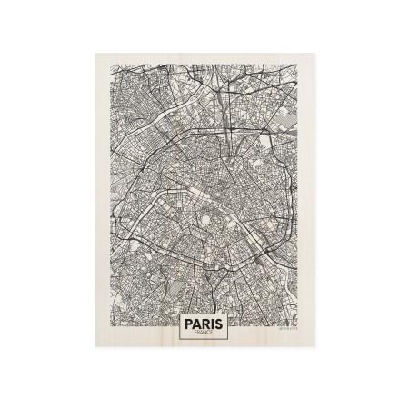 Caixa de madera Paris