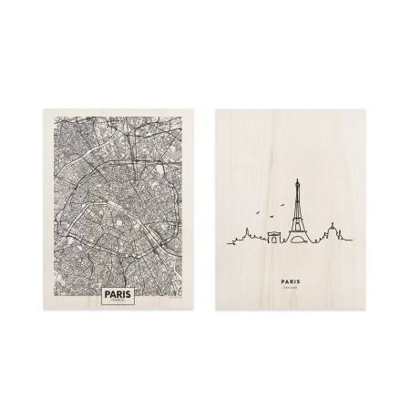 Pack de quadros Paris