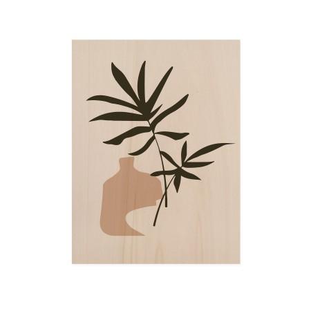Caixa de madera Palm Draw