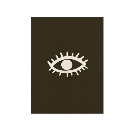 Caixa de madera Eye
