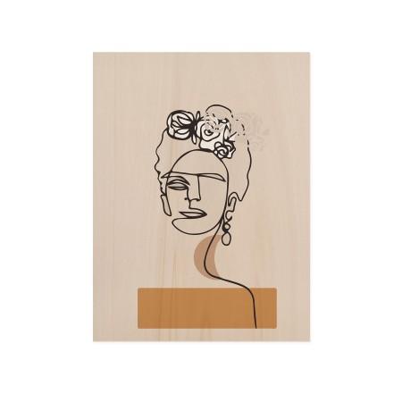 Caixa de madera Frida's Portrait