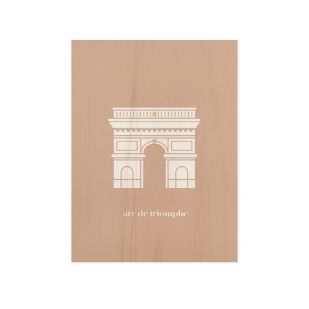Caixa de madera Arc Triomphe
