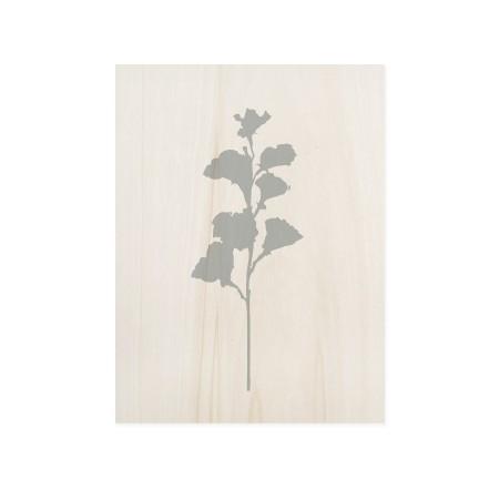 Caixa de madera Blue Plant I